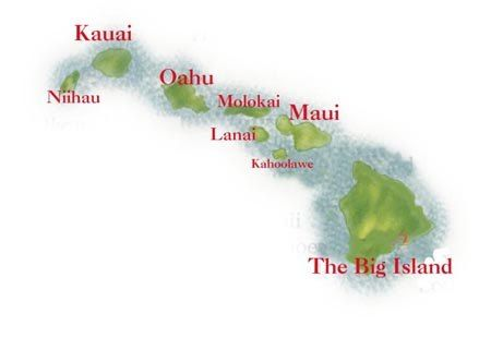 Name Of Hawaiian Islands Hawaiian Islands Names Ehow