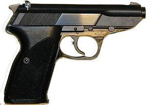Walther P5 - one of the finest handguns ever built Loading that magazine is a pain! Get your Magazine speedloader today! http://www.amazon.com/shops/raeind