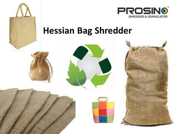 Hessian Bag Shredding Machine