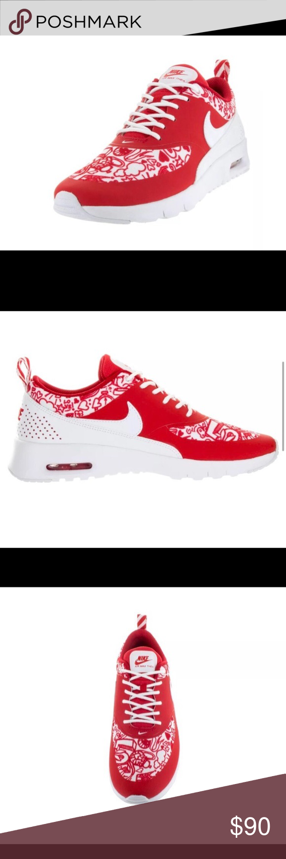 Nike Shoes | Nike Air Max Thea Se University Redwhite