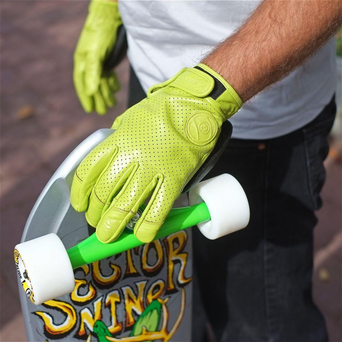 Sector 9 Driver Ii Green Slide Gloves Slide Gloves Gloves Leather Gloves