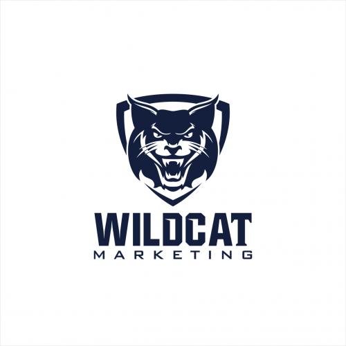 Wildcat Marketing Logo Design Logodesign Marketing Logo Design Sports Logo Inspiration Logo Design