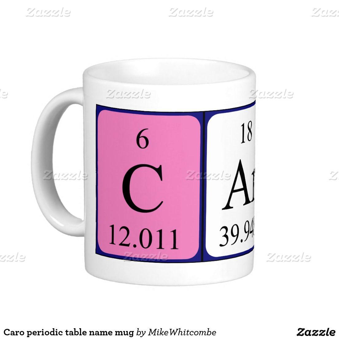 Caro periodic table name mug periodic table caro periodic table name mug urtaz Image collections