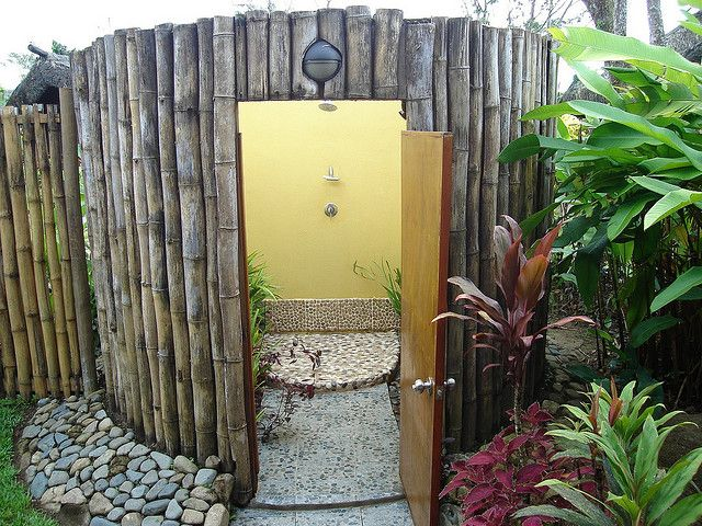 outdoor shower | Outdoor shower