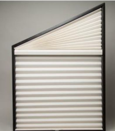 Tapered Cellular Shade Specialty Window Shape Ideas With Shades Blinds Pinterest Shades