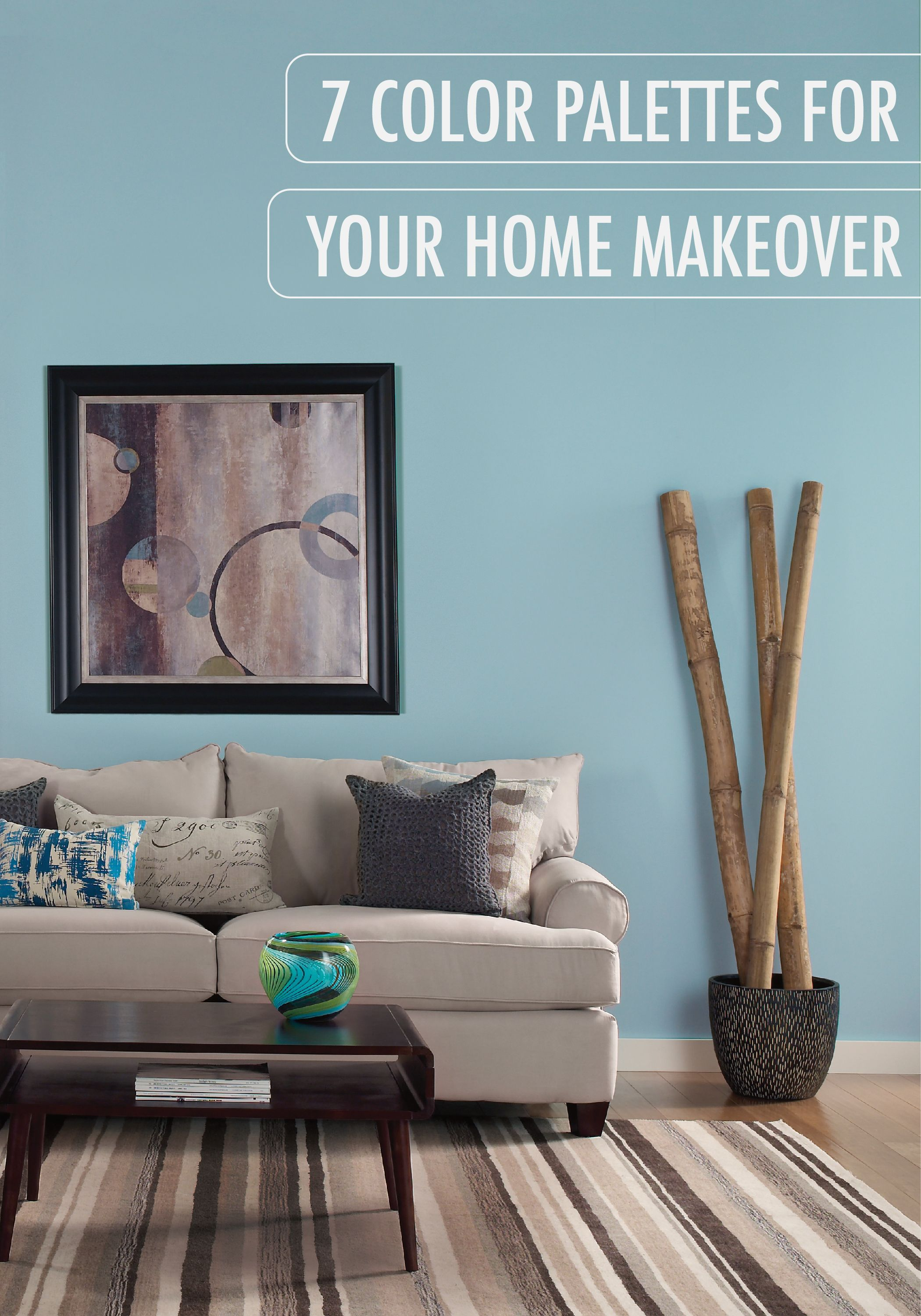 Congratulations on your new home! Start the process of making the space your own, with these 7 color palettes for your room makeover. With the featured combination of Catalina Coast and Swiss Coffee, it's easier than ever to express your personal style!