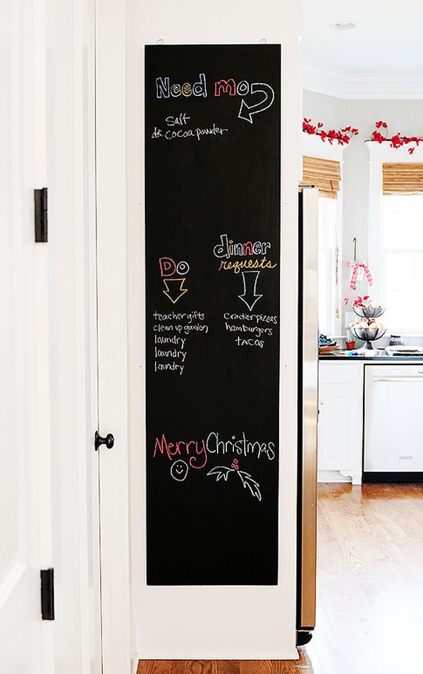 How To Make Your Own Chalkboard Diy Chalkboard Make A