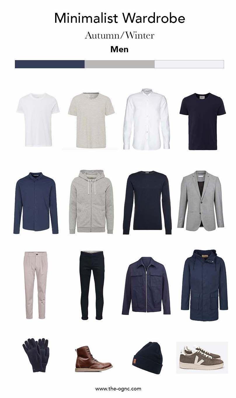 Minimalist Wardrobe für den Mann - Herbst/Winter