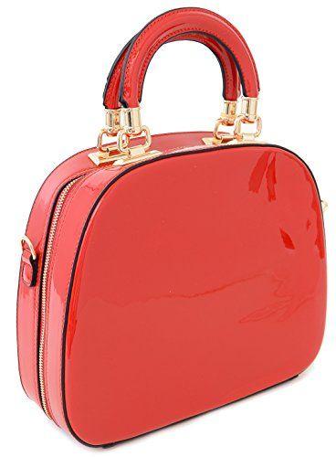 Red Patent Round Handle Tote Satchel Bowling Bowler Bag P... http://www.amazon.com/dp/B01AFDUX44/ref=cm_sw_r_pi_dp_gTkuxb1570MCK