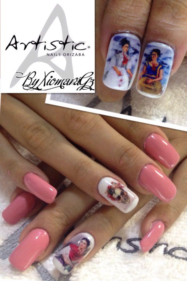 Frida Kahlo en tus uñas !! Descubre el arte solo en Artistic Nails a ...