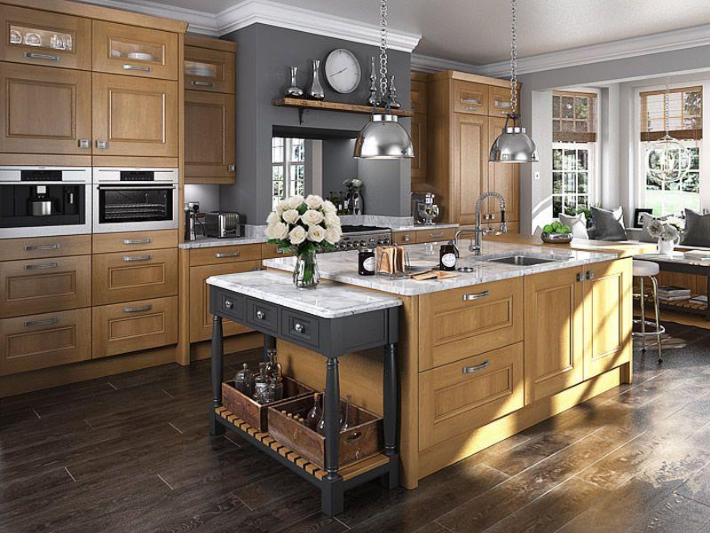 Good An Innova Bedale Oak Kitchen Design Idea   Http://www.diy