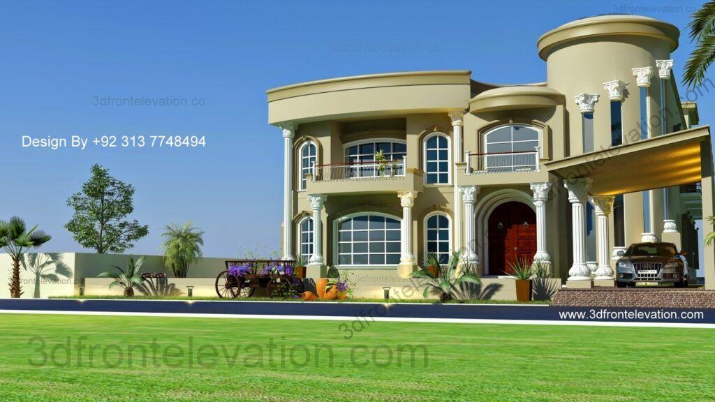 2 Best Classical Arabic Villa Facade Design أفضل مخطط فيلا كلاسيكية In 2021 Modern Villa Design Villa Design Architecture