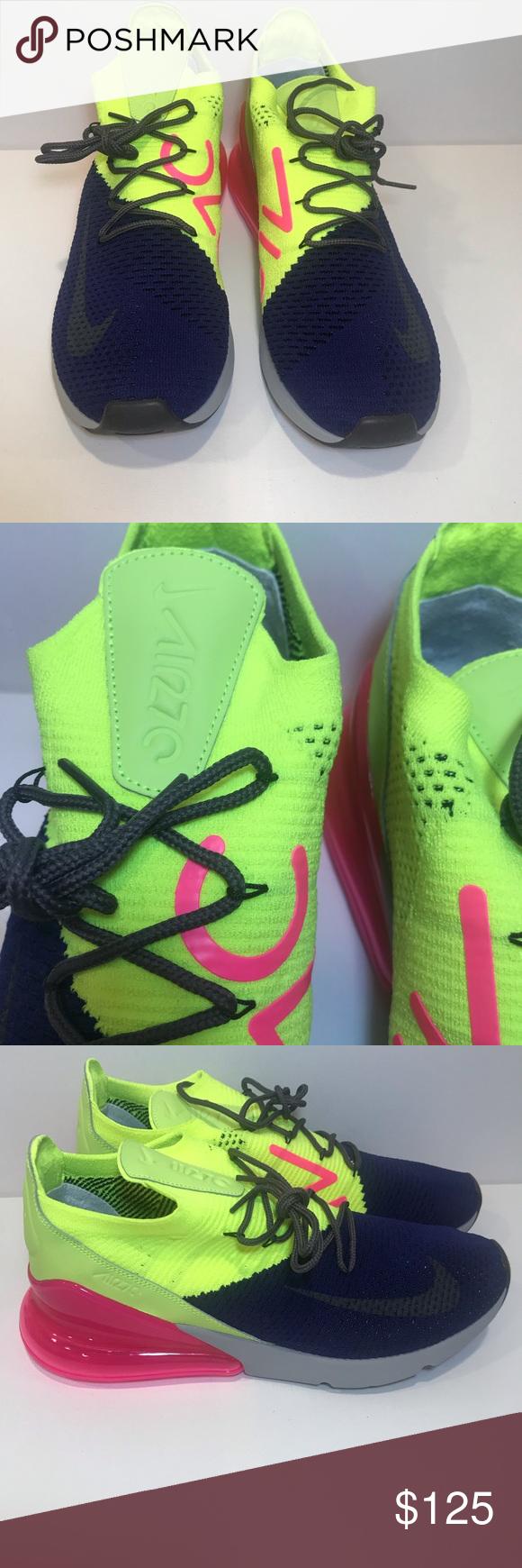 d77df3c17040 Purple Grey · Cloud · Nike Mens Air Max Flyknit 270 Size 11.5  170 New Nike  Air Max 270 Flyknit Regency