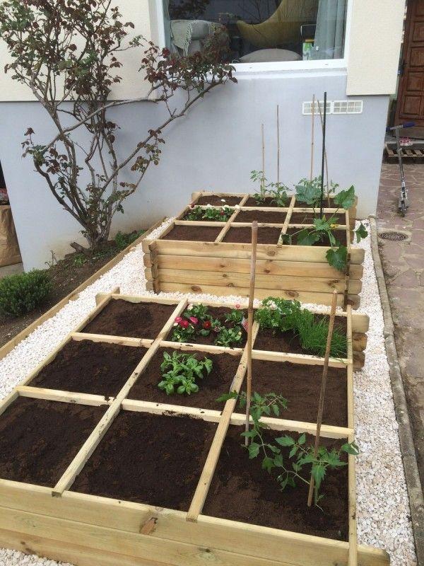 Les carrés potagers suite et fin | jardins extraordianires | Garten ...