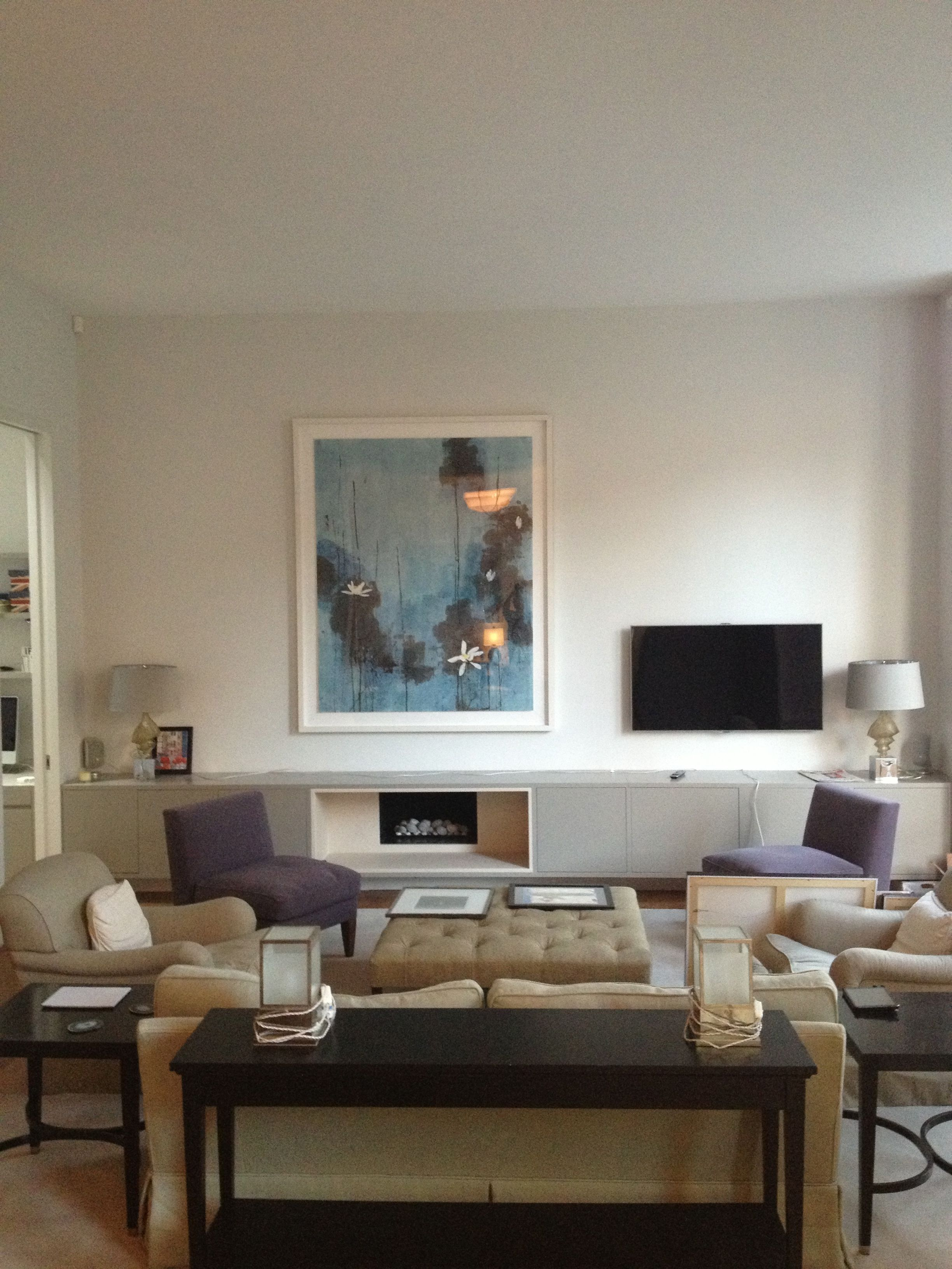 Gloucester Road Living Room - furniture by Andrea Felice with Ann Boyd  Interior Design www.