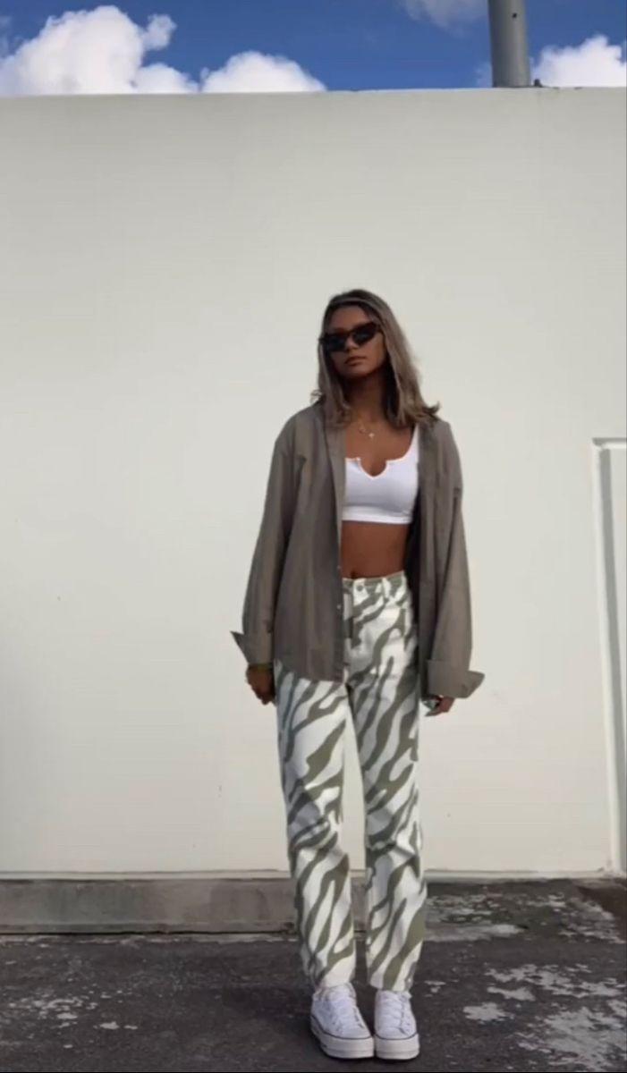 Outfits Zebra Print para romperla este año