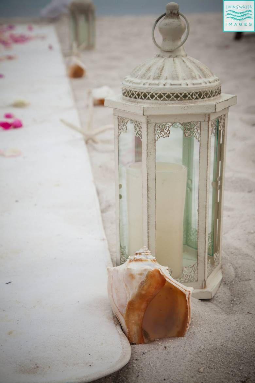 DIY Beach Wedding Centerpieces and Decor  DIY Beach Wedding Centerpieces and Decor  [ DIY Beach Wed