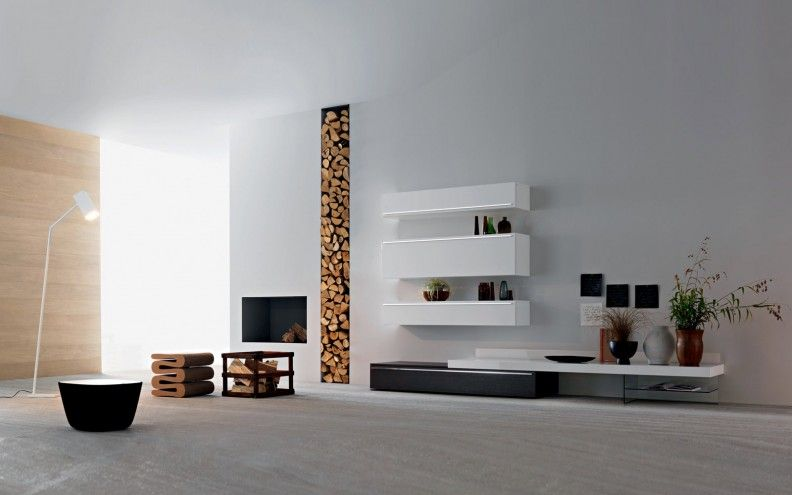 Designer Wohnwände Stilvolles Zentrum für Ihr Wohnzimmer - wohnideen tv wand