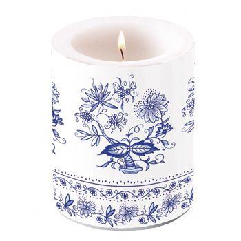 Vela floral azul #qualifest