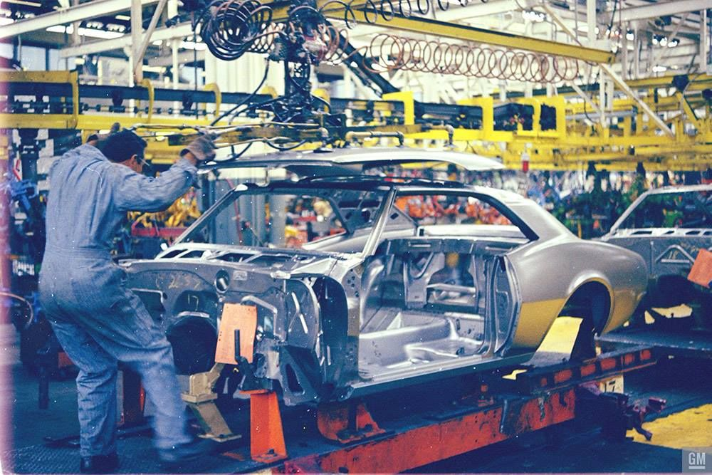 1967 Camaro Assembly Norwood OH | Camaro, Vintage muscle cars