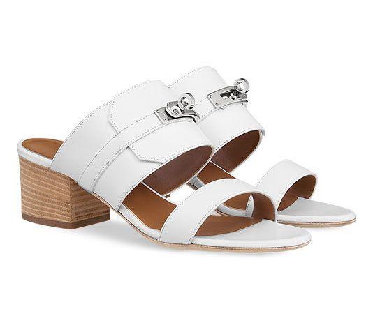 c3fa3ebeb Ovation Hermes ladies  sandal in calfskin