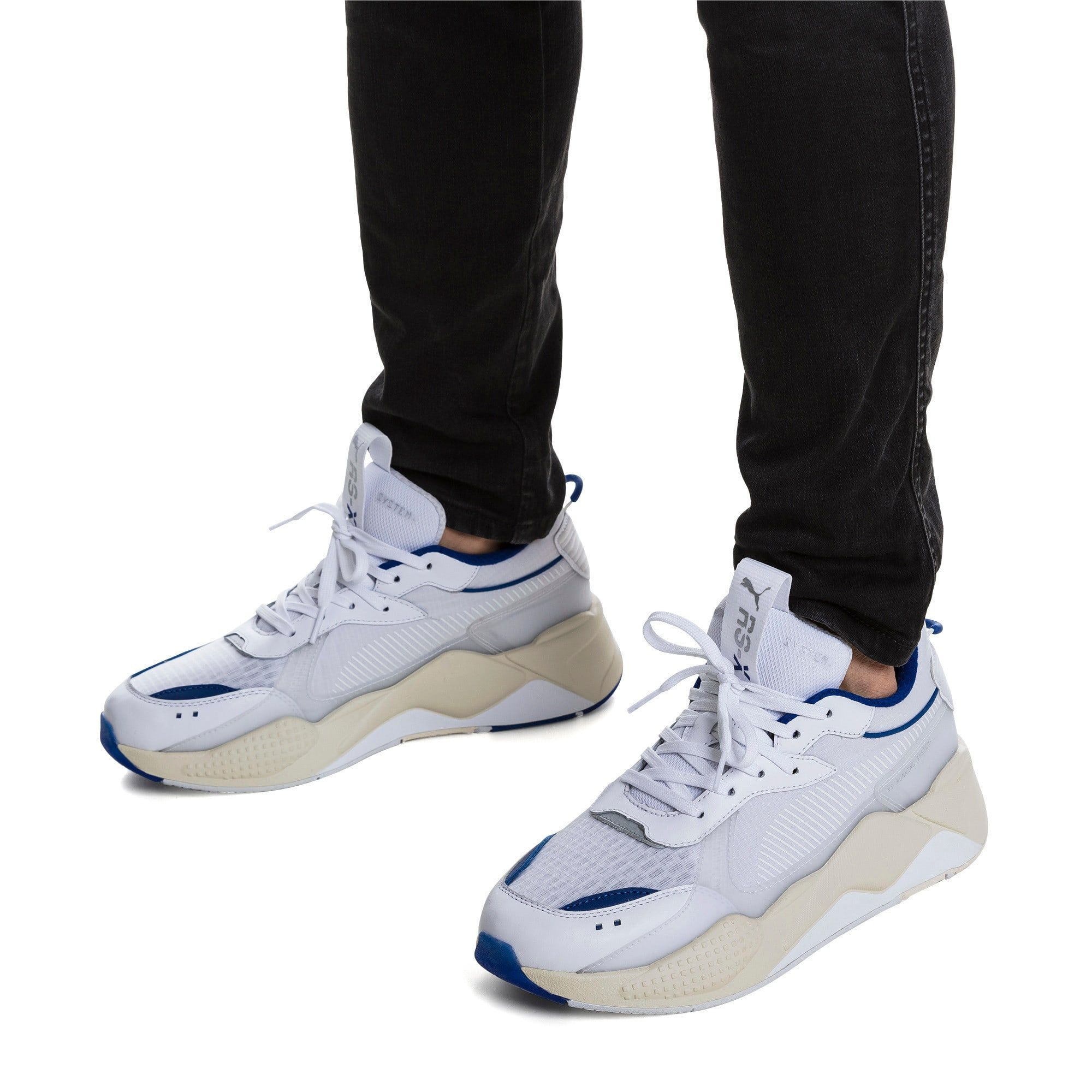 PUMA Rs X Tech Sneakers in WhiteWhisper White size 8.5