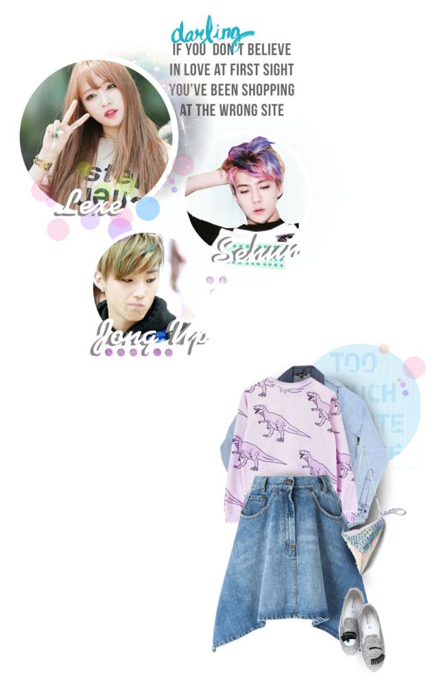 """""""~ Character list ~"""" by muzikgurl ❤ liked on Polyvore featuring Moschino and Chiara Ferragni"""