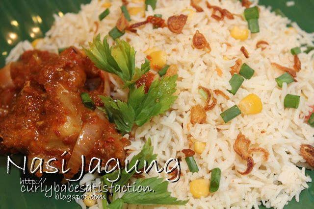 Curlybabe S Satisfaction Nasi Jagung Ayam Kasturi Resep Makanan Resep Masakan Memasak