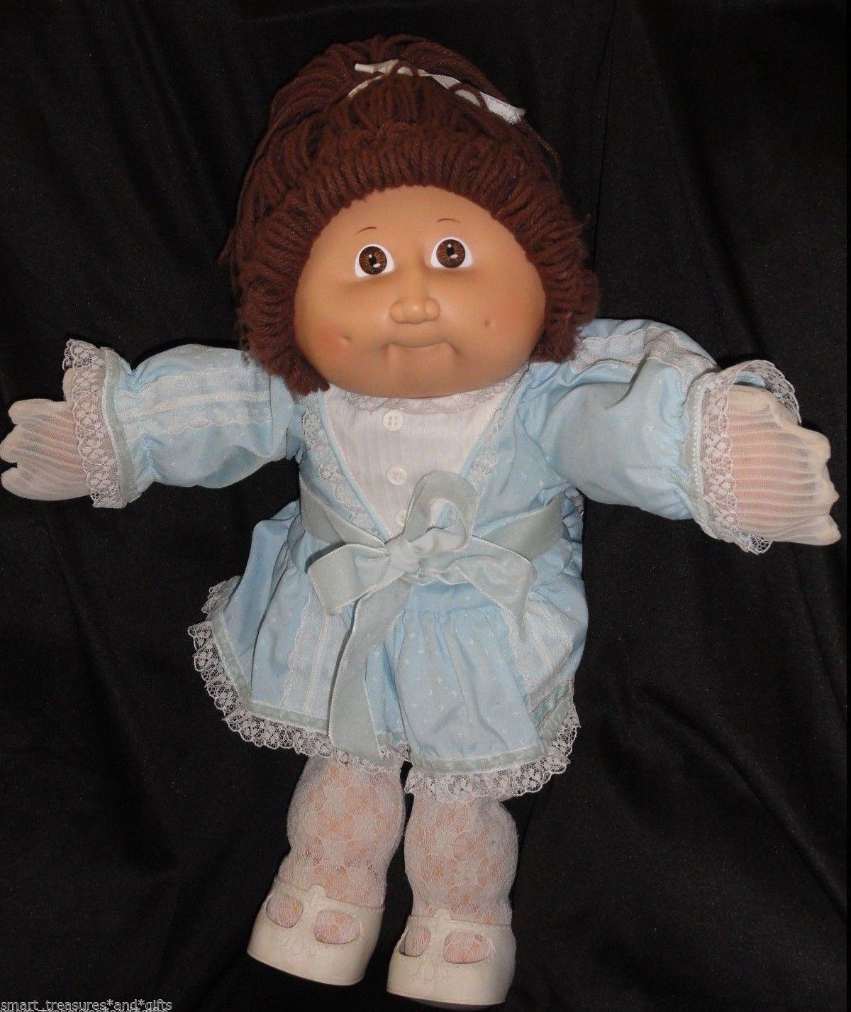 Cabbage Patch Kids Doll Coleco 1985 Xavier Roberts Girl Lot Clothes Vtg Rare Htf Cabbage Patch Kids Dolls Cabbage Patch Dolls Cabbage Patch Kids