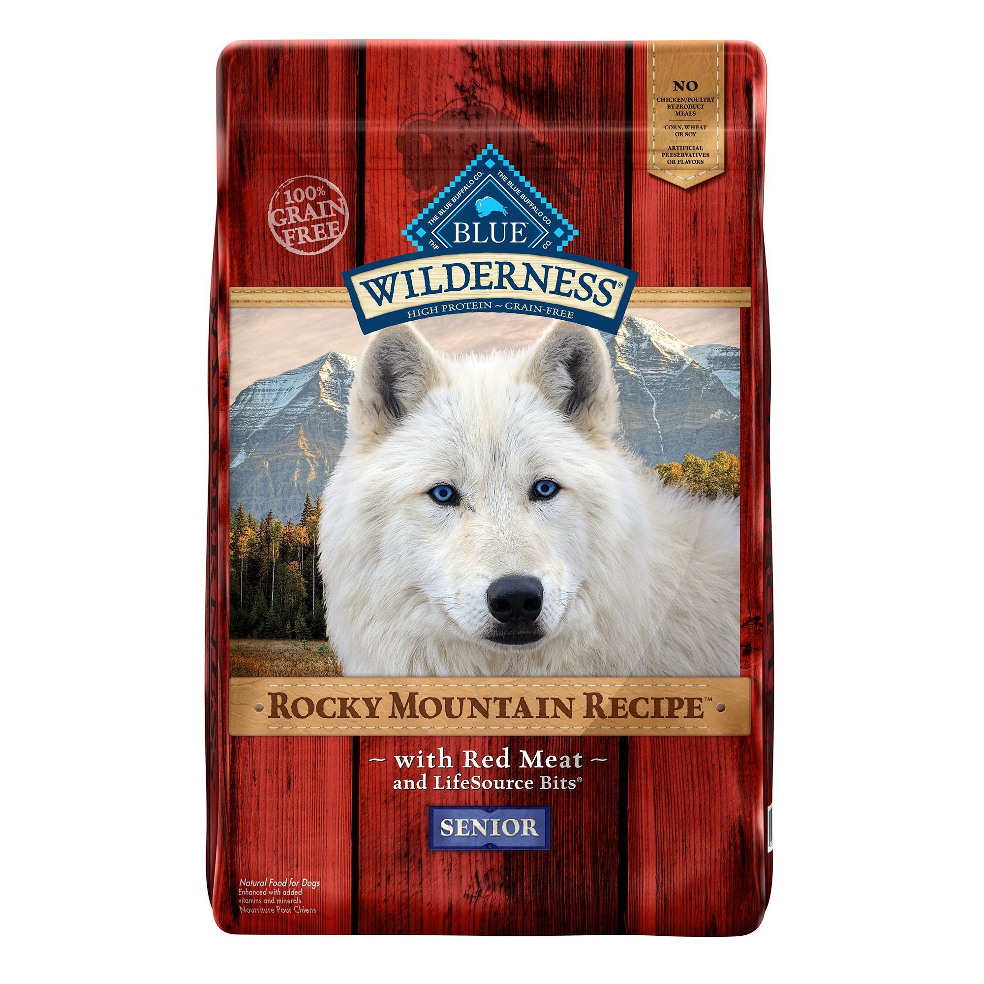 Blue Buffalo Wilderness Rocky Mountain Recipe Grain Free Senior