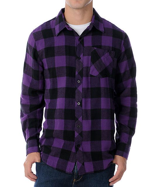 The Triumph guy's long sleeve flannel from Free World. | Stuff to ...