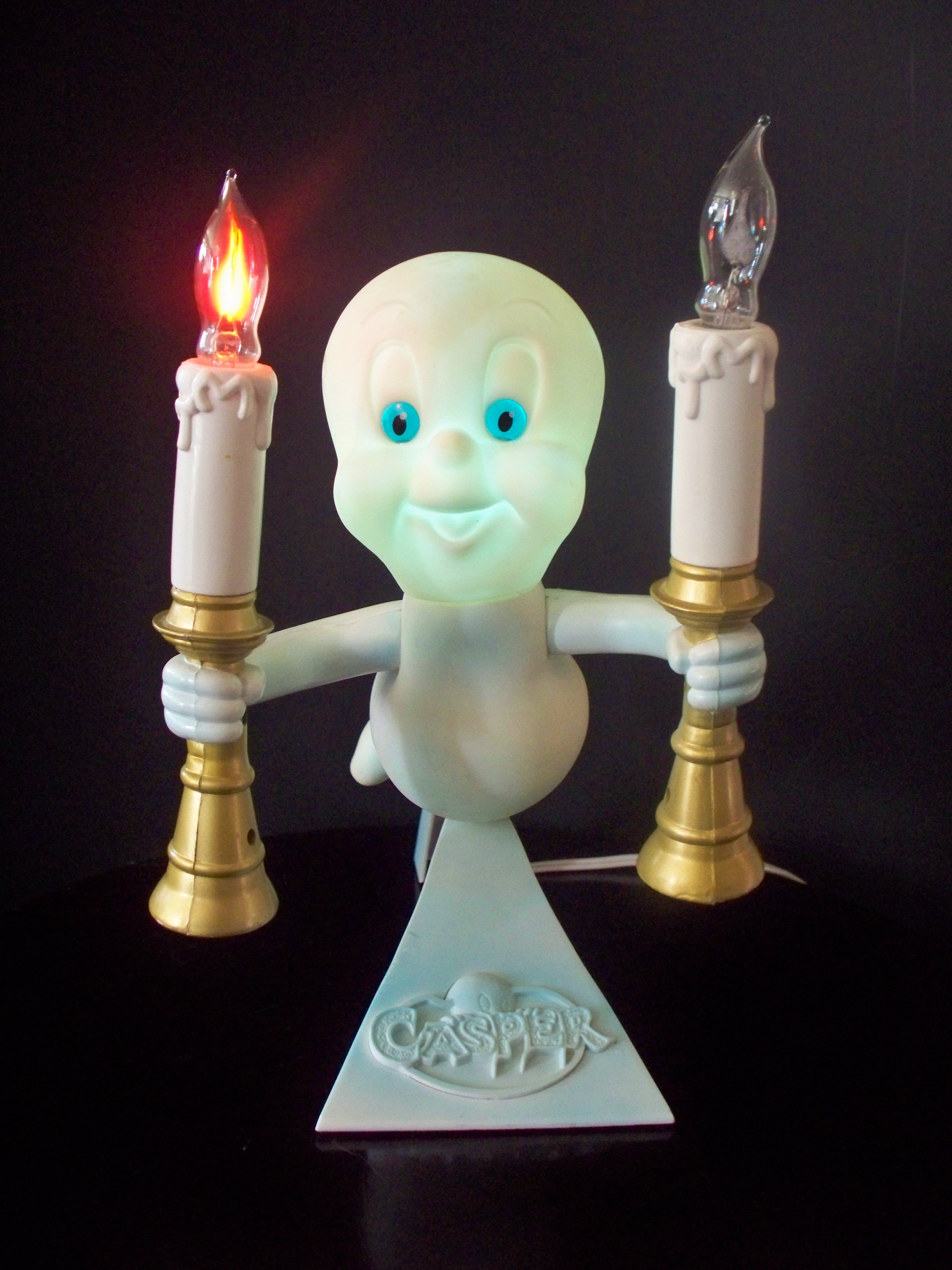 Casper the Friendly Ghost light hangs in the solarium all the time ...