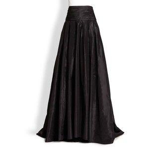 Carolina Herrera Silk Cummerbund Ball Gown Skirt | el lado oscuro ...