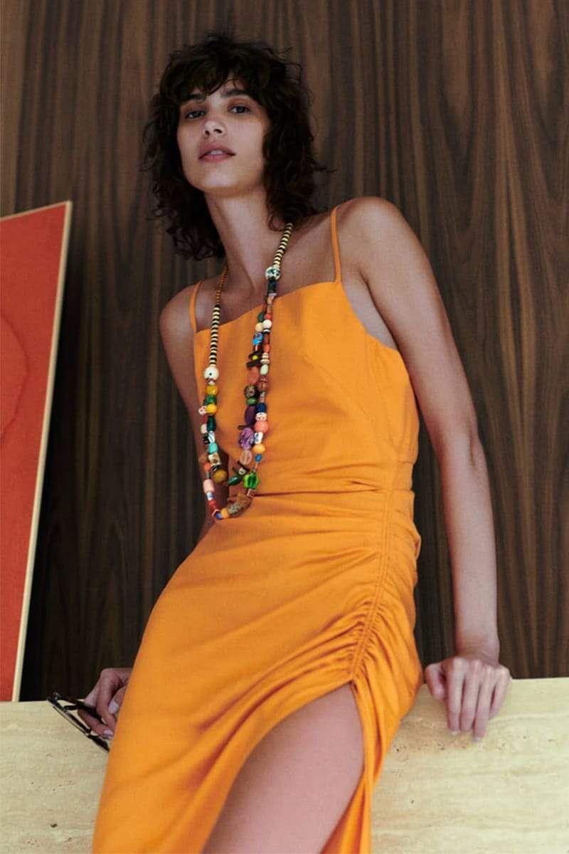 Ginza Draped Midi Dress Draped Midi Dresses Draped Dress Womens Midi Dresses [ 1200 x 800 Pixel ]