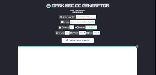 Eliminate Your Fears And Doubts About Cc Generator  cc generator
