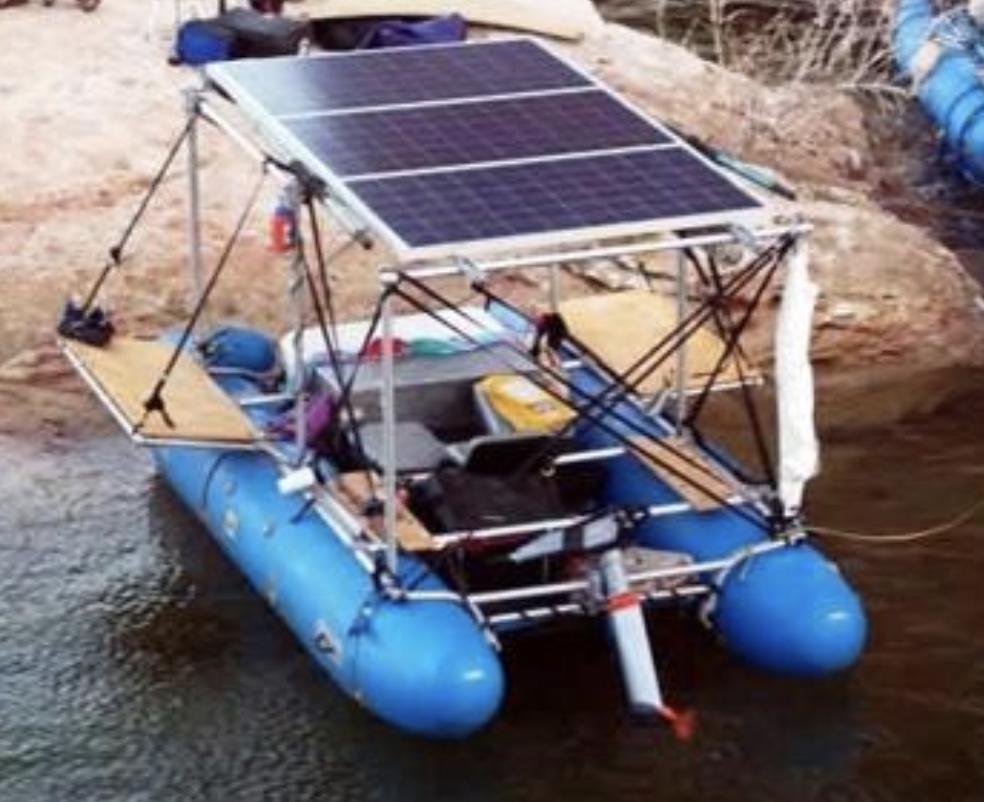 Solar Raft Solar Yacht Solar Rafting