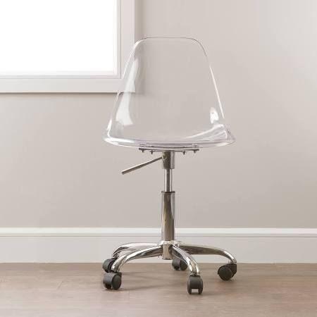 Google Clear Office Chair Acrylic Chair Clear Desk Chair