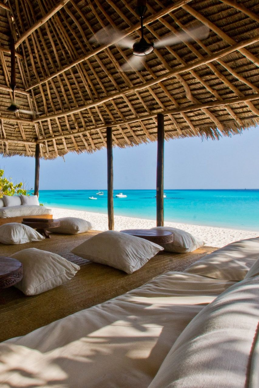 Emmy DE * Mnemba Island Lodge located  on a single small island about 2 km off the northeast coast of Unguja, the largest island of the Zanzibar Archipelago, Tanzania
