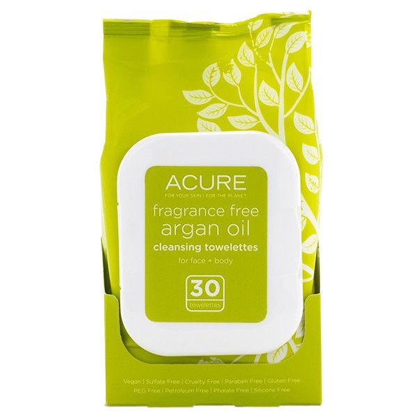 Fragrance Free Argan Oil Towelettes
