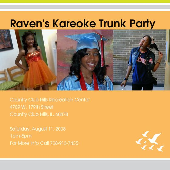 college trunk party ideas Ravenu0027s Kareoke Trunk Party - Country - fresh invitation wording for trunk party