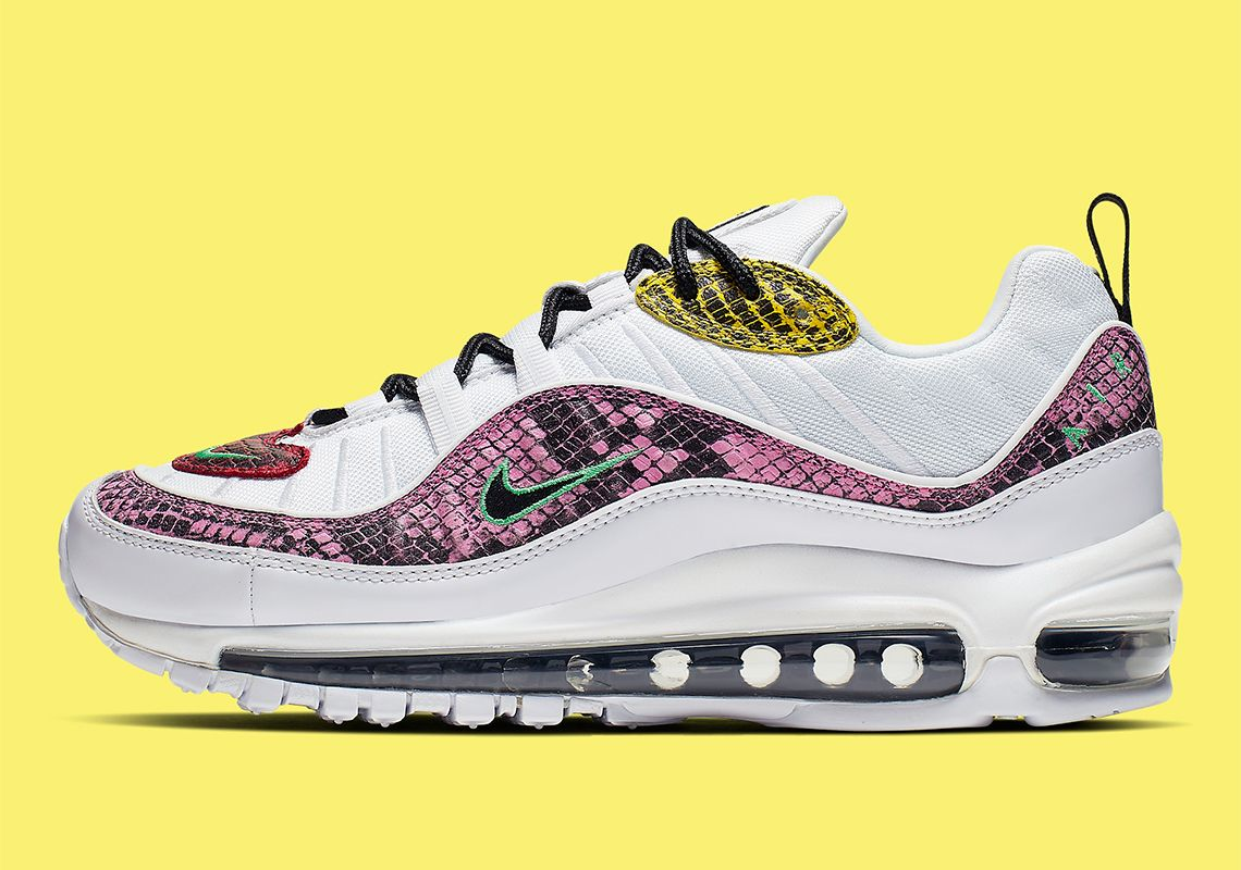 Nike Air Max 98 Snakeskin WMNS BV1978 100 Release Date