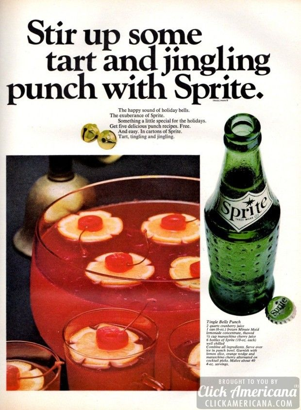 Sprite Cranberry Advertisement
