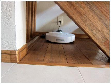 ◆Web内覧会 階段(ドッグスペース&ルンバの基地)  家づくりぶろぐ~低予算でどこまでこだわれるか頑張るblog~