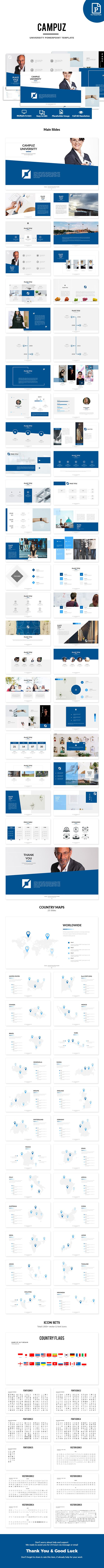Campuz university powerpoint template catlogo campuz university powerpoint template creative powerpoint templates toneelgroepblik