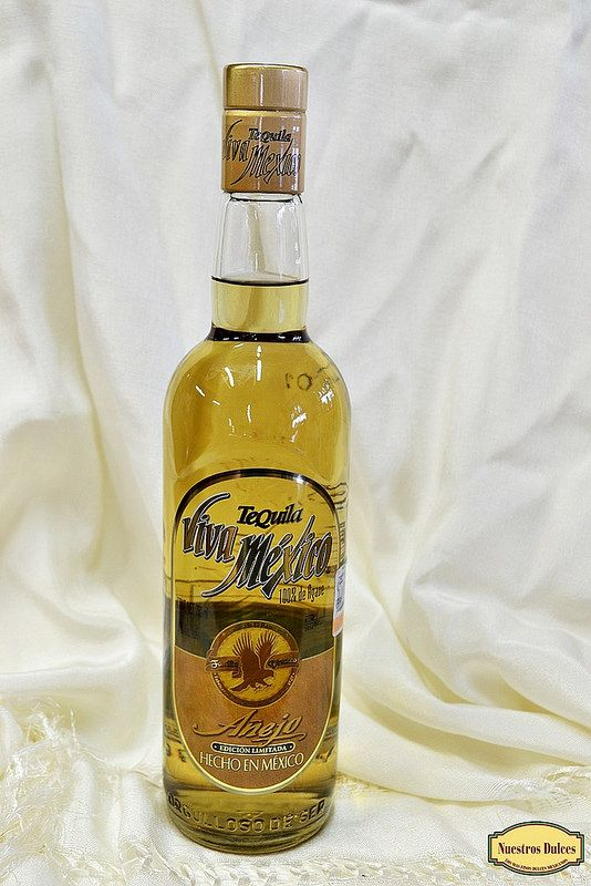 Tequila Viva México, una edición limitada de este tequila añejo 100% agave