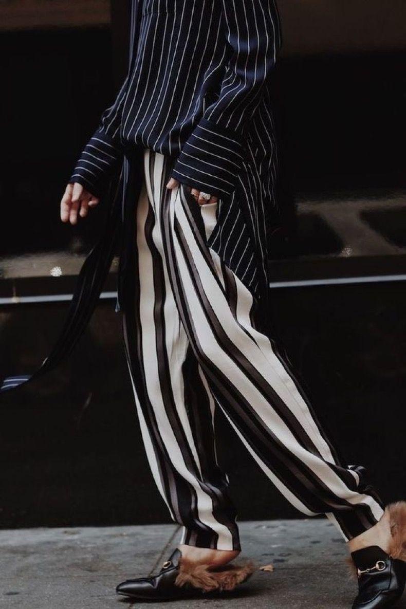 Pantalones Con Rayas: Estos Looks Te Convencerán De Que ...