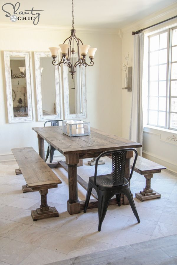 Furniture Projects · DIY Dining Set By Shanty2Chic