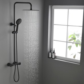 Gwen Contemporary Exposed Shower System Thermostatic Shower Faucet