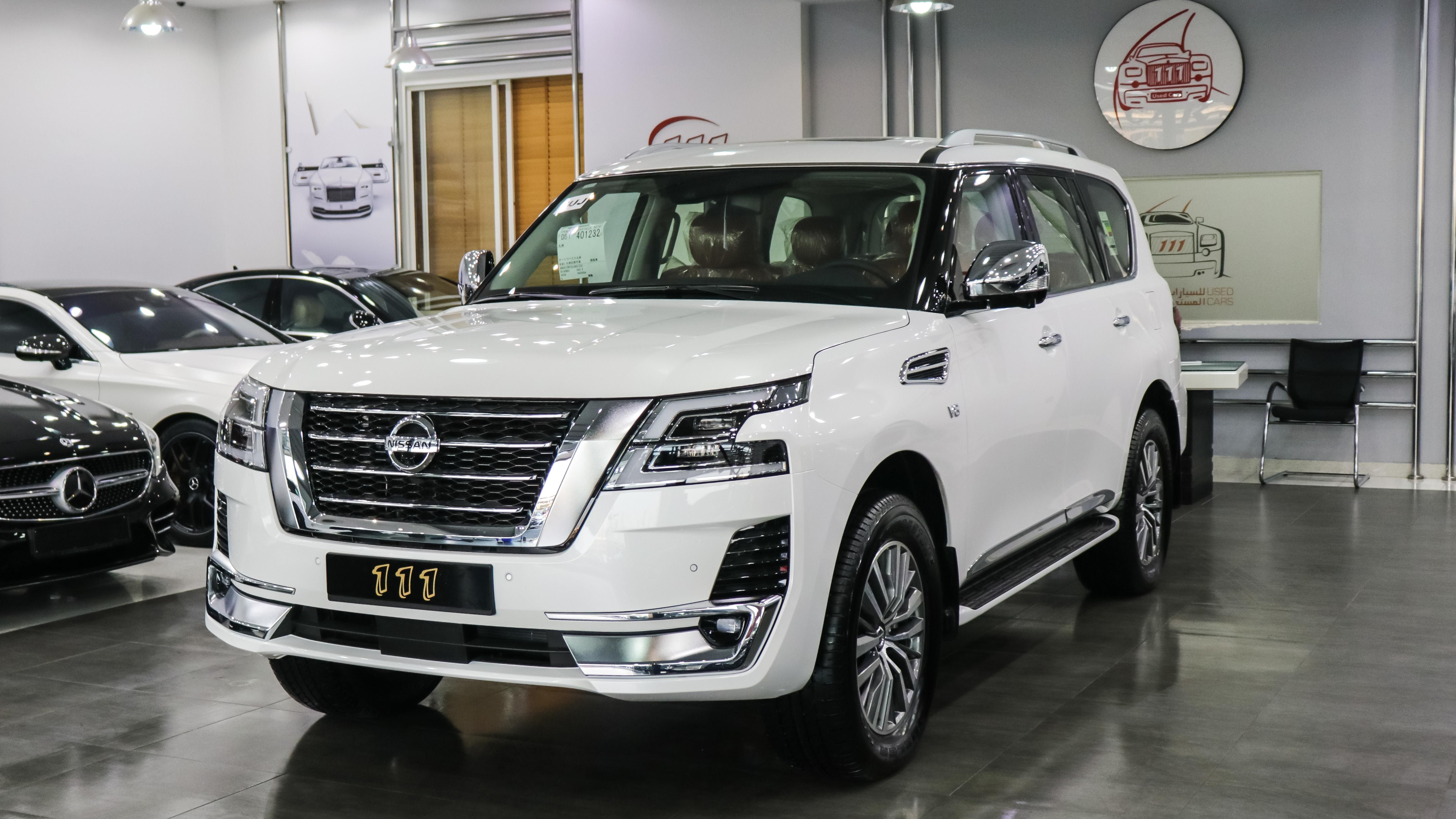 Model Nissan Patrol LE Platinum / GCC Specifications / 5