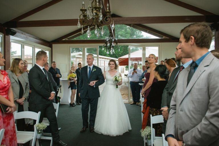 Topiaries Wedding Ceremony